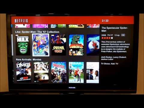 of DLink's BOXEE BOX  Netflix