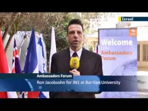 JN1's Ron Jacobsohn attends The Ambassadors Forum which convenes over the crisis in The Ukraine