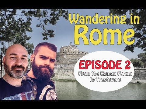 Wandering in Rome – Episode 2: Ancient ruins, cats and big noses.