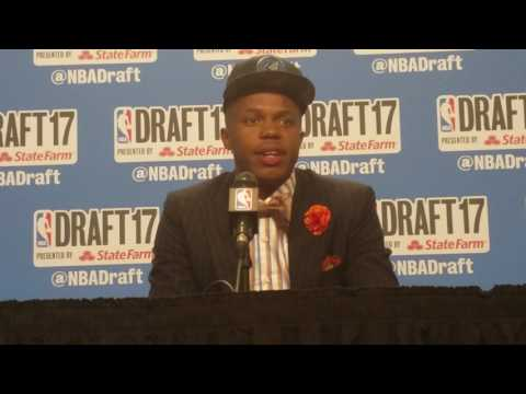 Justin Patton on playing alongside Karl-Anthony Towns at 2017 NBA Draft