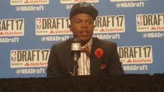 Justin Patton on playing alongside Karl-Anthony Towns at 2017 NBA Draft