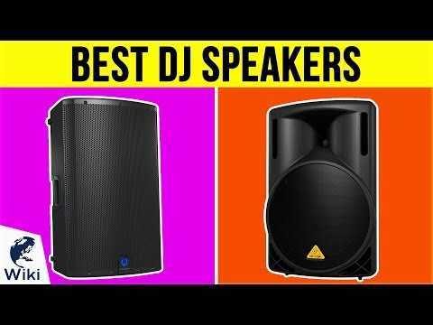 10 Best DJ Speakers 2019