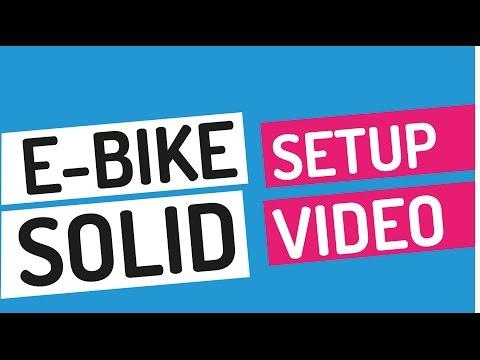 enviado SOLID E-Bike Setup