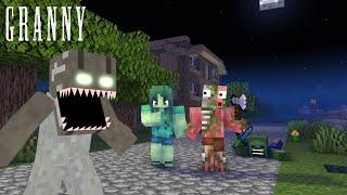 MONSTER SCHOOL : GRANNY'S REVENGE - Minecraft Animation