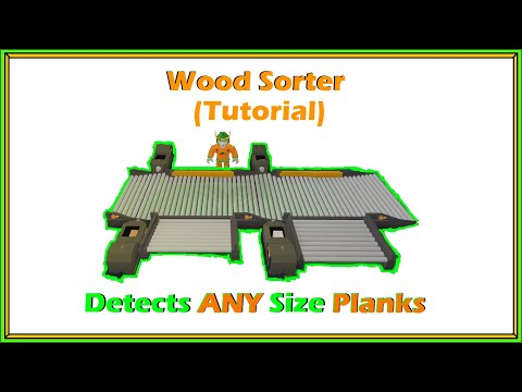 [Roblox] Lumber Tycoon 2: Wood Sorter Tutorial (SORTS ANY SIZE PLANKS)