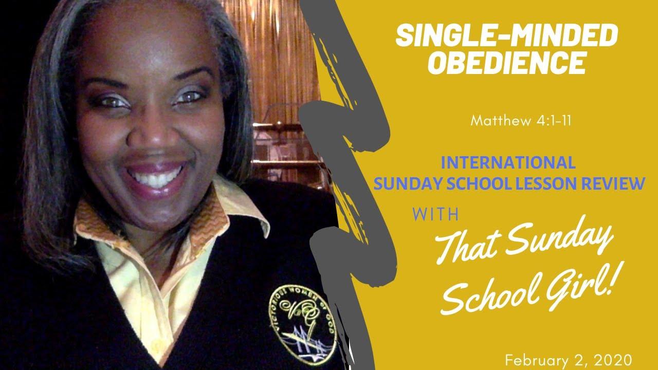sunday school lesson august 25 2020