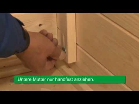 Sturmschutz montieren   Wolff Finnhaus zeigt wie's geht!   YouTube