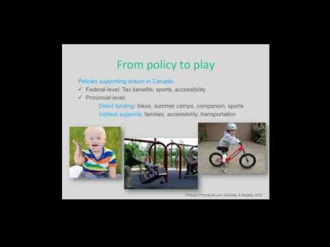Leveling the playing field: Promoting leisure for children with disabilities