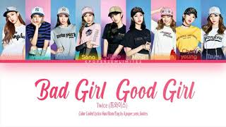 "Twice (트와이스) (Miss A cover) ""Bad girl good girl"" (…"