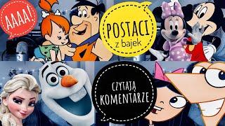 KOMENTARZE WIDZÓW czytamy postaciami z bajek!  | feat. Łuki Gie