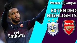 Huddersfield v. Arsenal | PREMIER LEAGUE EXTENDED HIGHLIGHTS | 2/9/19 | NBC Sports
