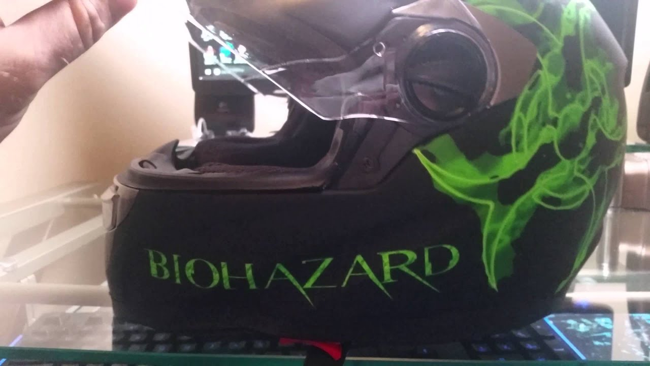 "IV2 ""Biohazard"" Helmet Review"