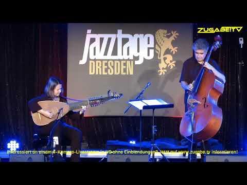 Renaud Garcia-Fons & Claire Antonini Live Konzert @ Jazztage Dresden 2019