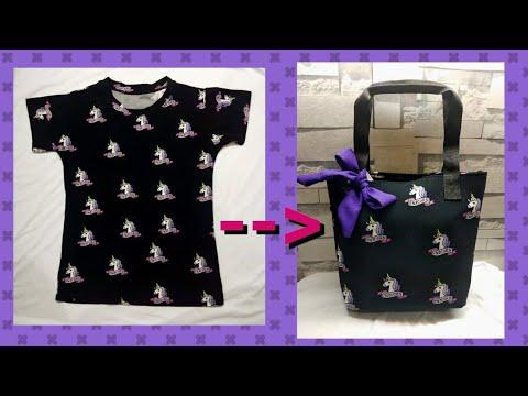 diy-|-how-to-convert-shirt-into-tote-bag