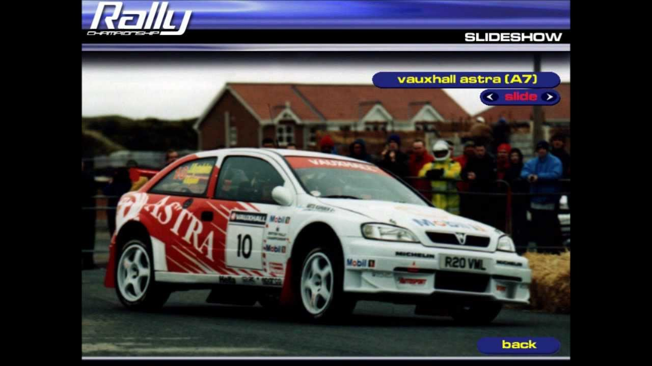 Mobil 1 Rally Championship All Cars Vauxhall Astra Kit