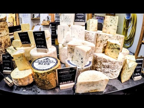 Amazing Food Stores of London. Cheese, Crocodile Meat Burgers and More Seen in Borough Market