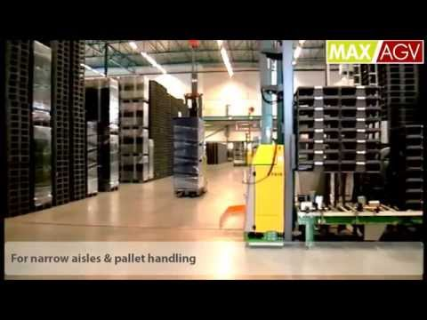 MAXAGV™ FX10 - Norsk Lastbaerer Pool (Automated Guided Vehicles)
