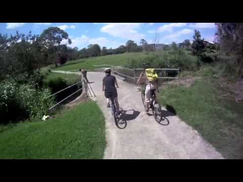 Quick Cycle from Brigid and John's Place to Carindale Shopping Centre