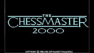 Chessmaster 2000 (1986) Full Game