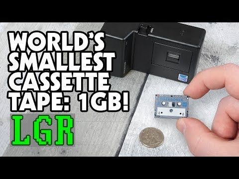 LGR Oddware - Datasonix Pereos Cassette Backup System
