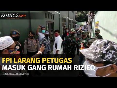 Petugas Sempat Dilarang Masuk Gang Rumah Rizieq, Dandim Jakpus: Ini Wilayah NKRI