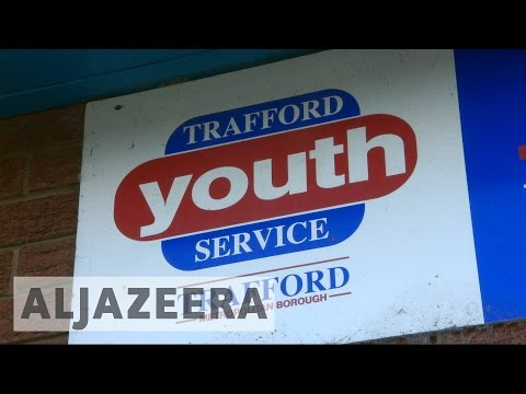 Closed youth clubs affect UK's poor