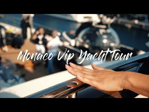 VIP Private Tour on Legend Luxury Yacht in Monaco