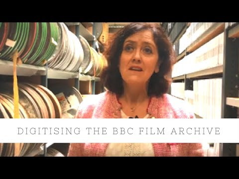 Digitising the BBC Film Archive with Fastforward