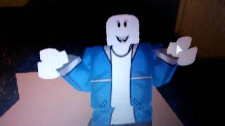 Perfect Sans in Roblox 💀