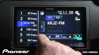 How To - AVIC-7000NEX - Use The HD Radio Tuner