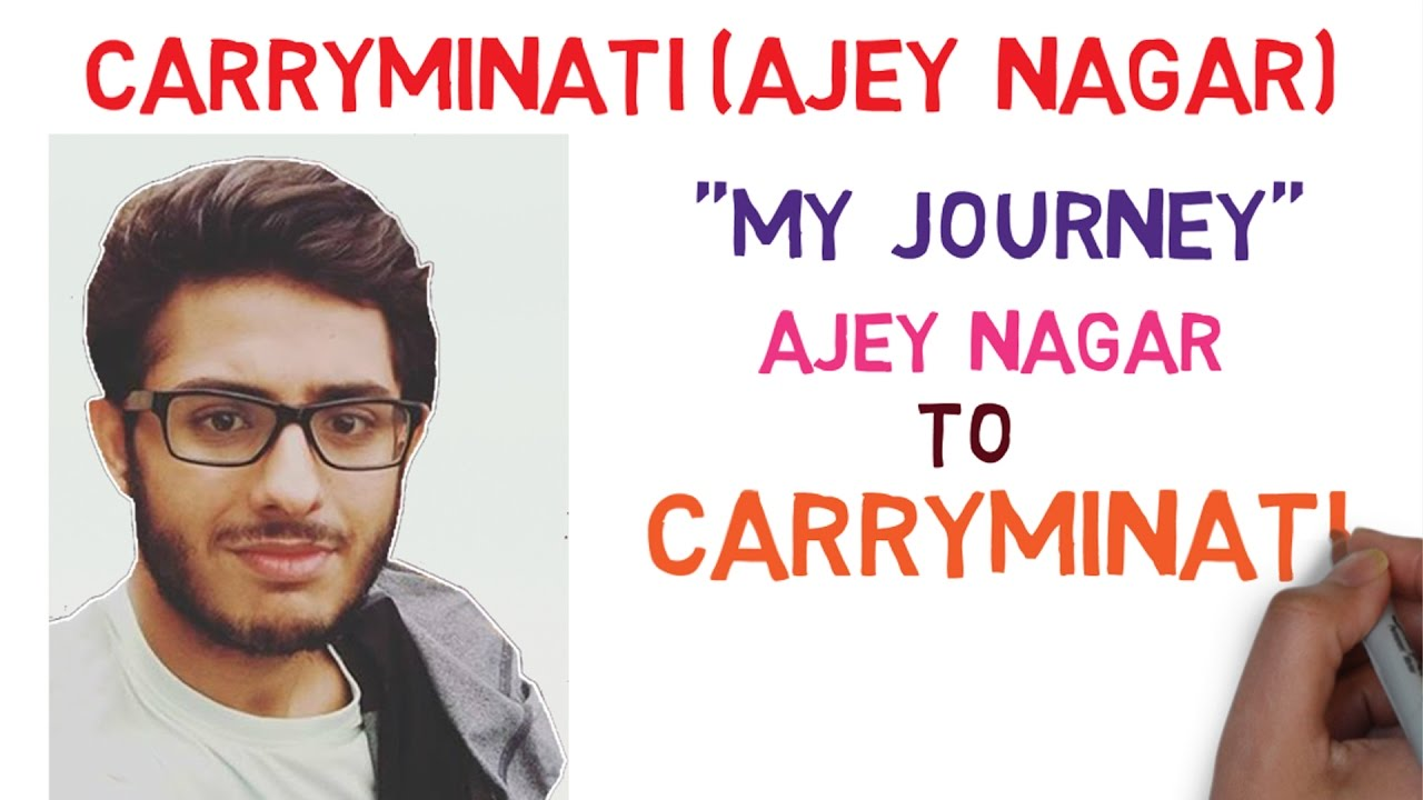 Carry Ka Tau Excited To Know Carryminati Biography  Carryminati Story