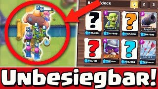 Mit diesem Deck bist du UNBESIEGBAR! | Battle Deck Arena 3,4,5,6,7,8 | Clash Royale [deutsch/german]