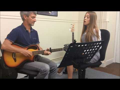 Olivia Garcia - Empire State of Mind Acoustic Cover
