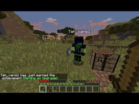 Minecraft Survival multiplayer episode 1 (greek)