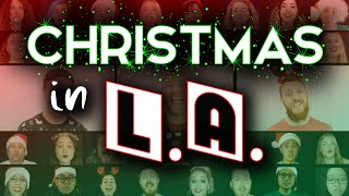 Christmas In L.A. - Vulfpeck | A Cappella Cover by The Australian A Cappella Collab Project
