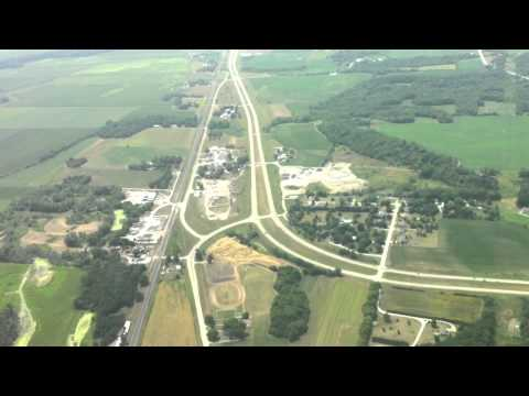 Flying out of Burlington, Iowa