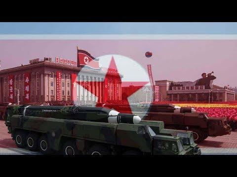 Pyongyang military parade ahead of PyeongChang Olympics