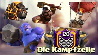 fa!thful Teil1/2 Bowler Lava Loon Hexen Schweinereiter Kill-Squad RH11 CW Deutsch CoC Clash of Clans