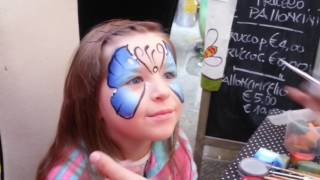 Мы В СКАЗКЕ Рисуем БАБОЧКУ На Лице KID'S MAKEUP BATTERFLY Makeup