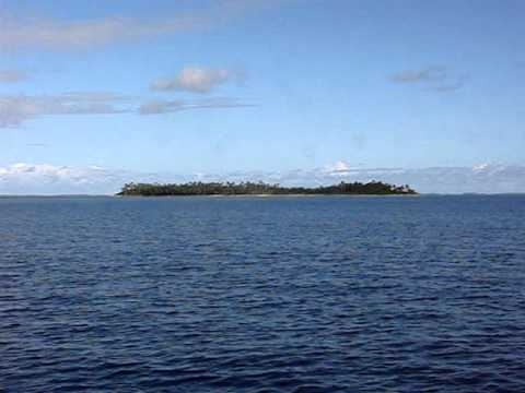 Tom-Arno atoll lagoon approach to Enedrik Island #1-A