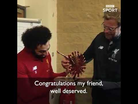 LFC's Mohamed Salah has been voted BBC African Footballer of the Year for 2017.