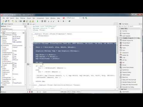 C++ Builder - Indy TCP (Screenshot) - YouTube