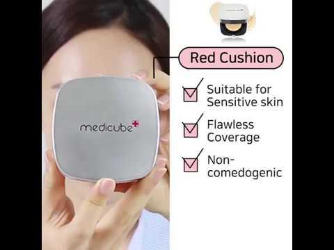 Medicube Red Cushion修復遮瑕氣墊 www.starbuy.hk - YouTube