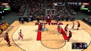 NBA 2K11 My Player - 2nd NBA Game