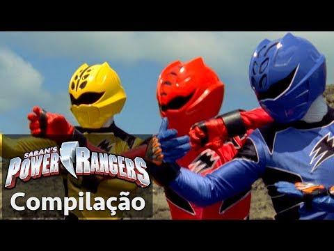 Power Rangers em Português | Lutas incríveis dos Jungle Fury