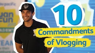 10 Tips on How to Vlog: CEB Travel Talks by Wil Dasovich