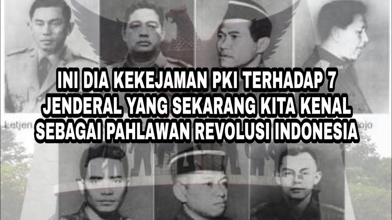 Foto 7 Pahlawan Revolusi Korban G30s Pki