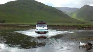 Mk1 pajero in scotland. dodge raider, shogun