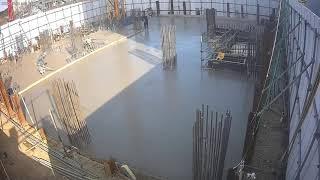 바닥 콘크리트 타설