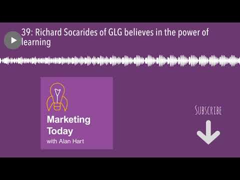 39: Richard Socarides of GLG believes in the power of learning